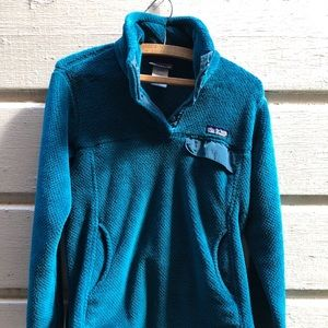 Patagonia Re-Tool Snap-T Fuzzy Fleece Pullover